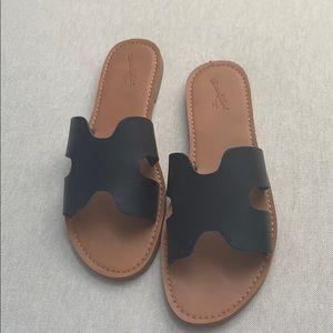 Hermès inspired flat sandal